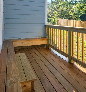 add a deck